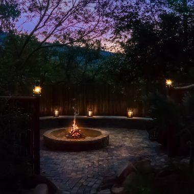Idwala View African Safari Boma, Self-Catering, 5 Star, Luxury Mabalingwe Lodge