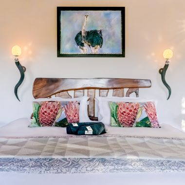 Idwala View Accommodation Ostrich Room, Self-Catering, 5 Star, Luxury Mabalingwe Lodge