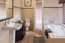 Idwala View, Accommodation, En-suite, Bathroom, Luxurious, Safari, Ostrich Room