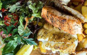 Cajun Fish, Idwala View, Gas Kettle Braai Cooking, Self-Catering, Safari, Mabalingwe