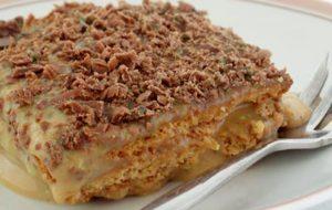 Peppermint Crisp Tart, Idwala View, Bushveld Recipes, Self-Catering, Safari, Mabalingwe